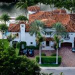 Aerial View Custom Home by WA Bentz